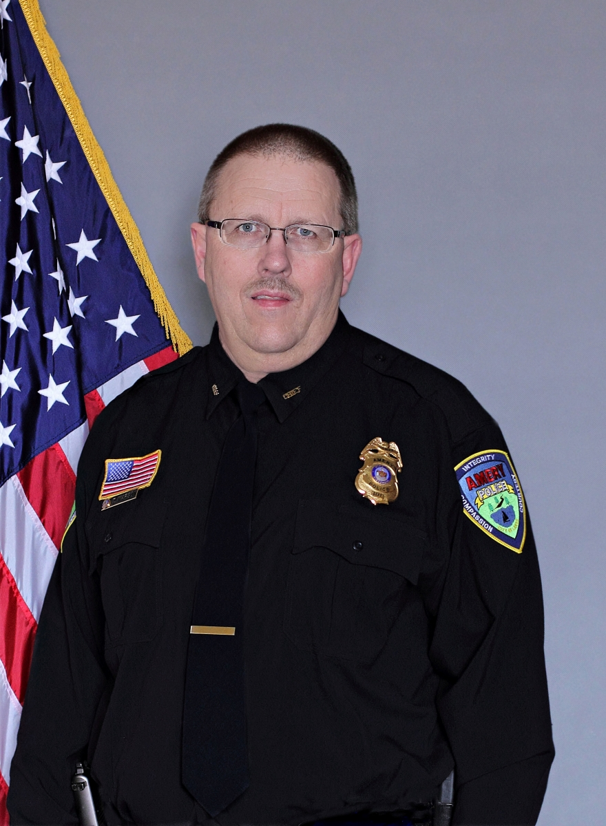 Tom Marson Amery Police Chief