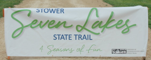 Stower 7 Lakes Sign